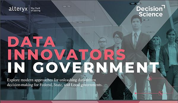 Data Innovators in Government