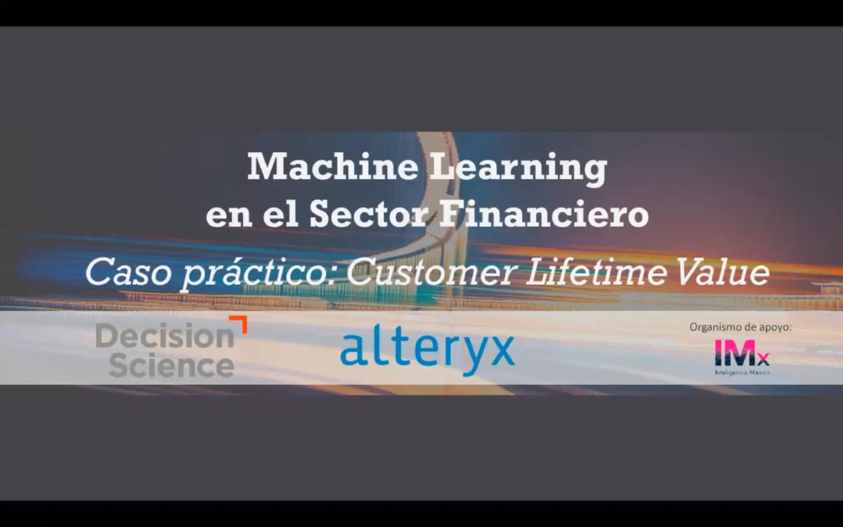 Machine Learning en el sector financiero   Customer Lifetime Value