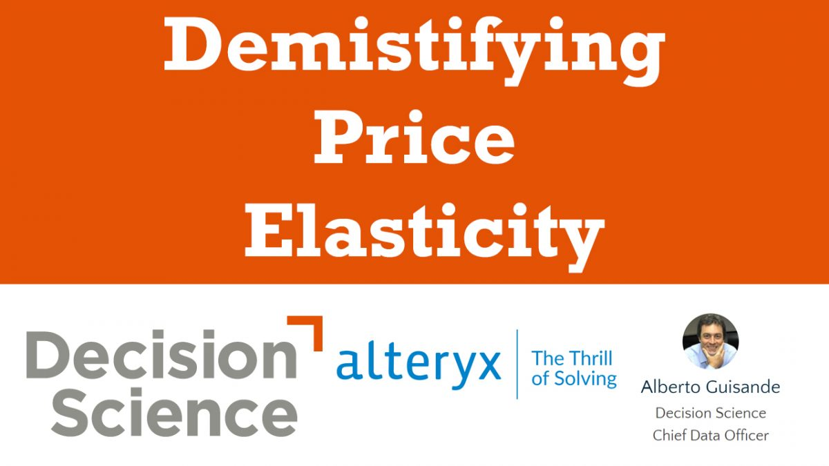 Demistifying Price Elasticity